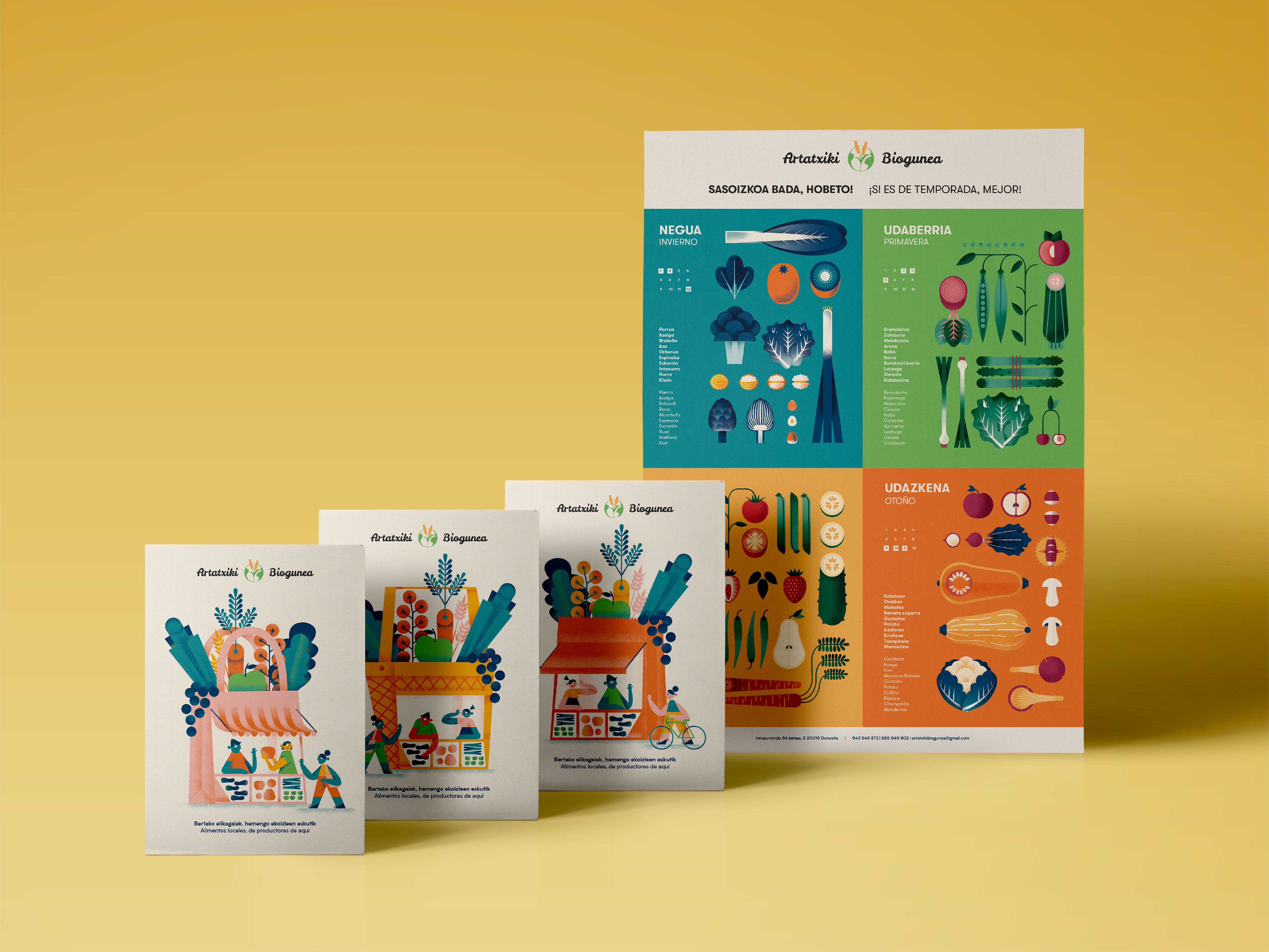 Mini-campaña para Artatxiki by Ane Arzelus - Creative Work