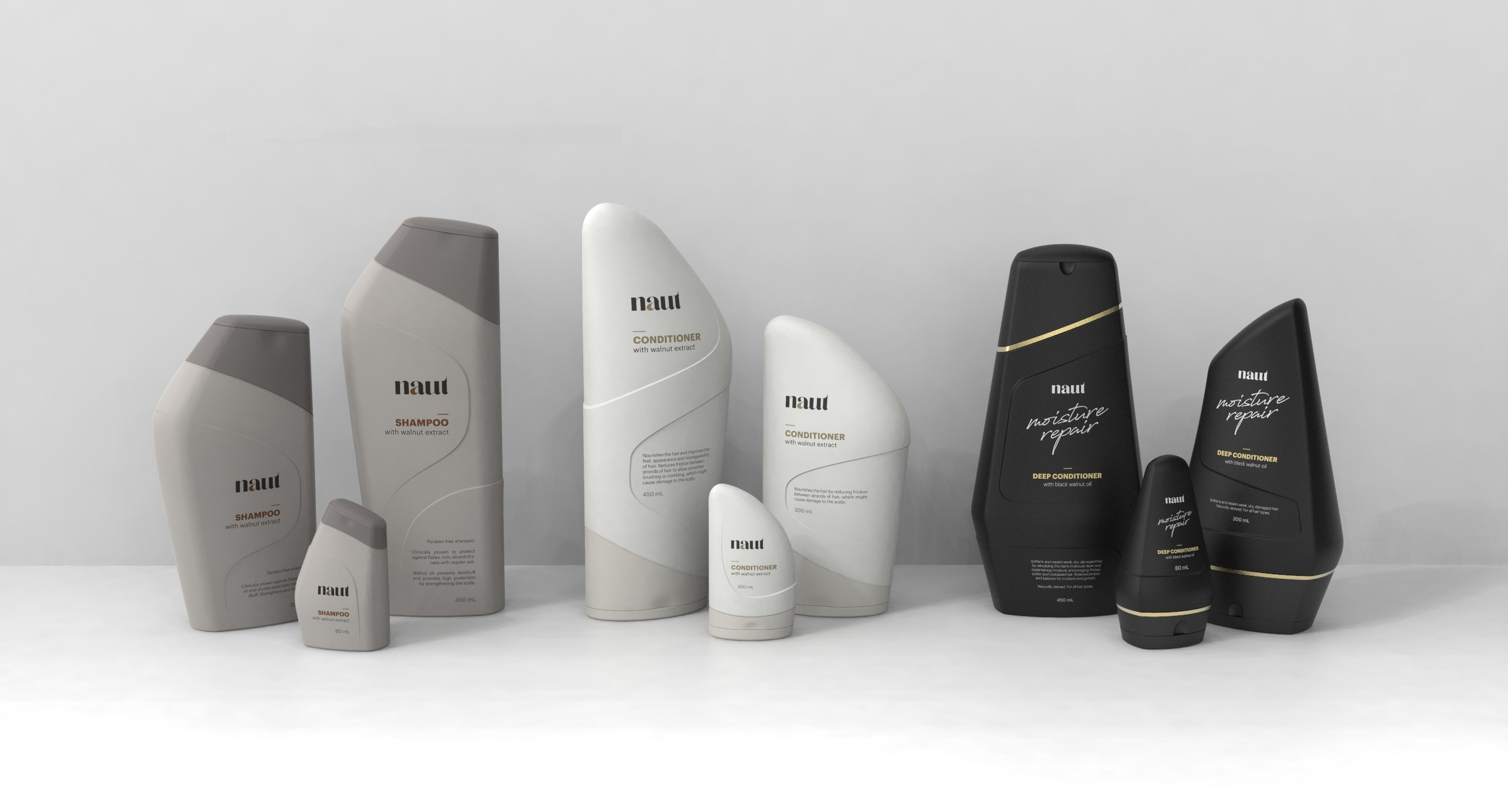 Naut - Personal Care Product Family by Kerem İnak - Creative Work