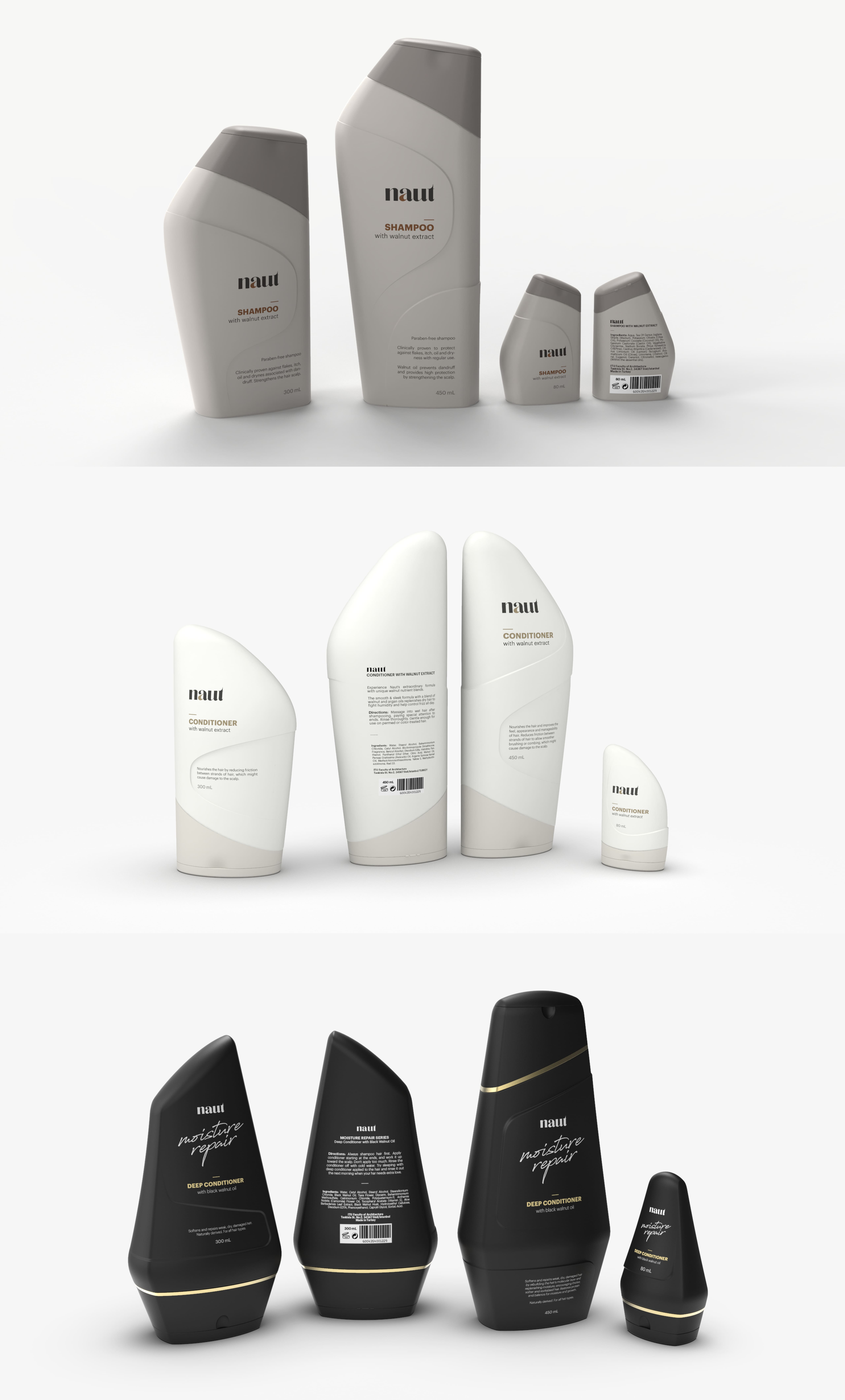 Naut - Personal Care Product Family by Kerem İnak - Creative Work - $i