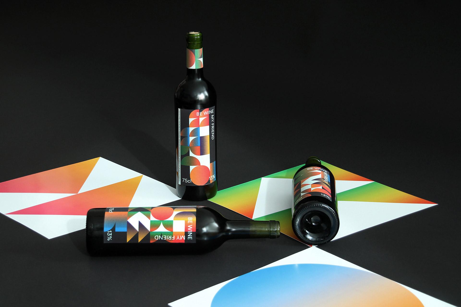 Be winBe Wine My Friend  by Barceló estudio - Creative Work