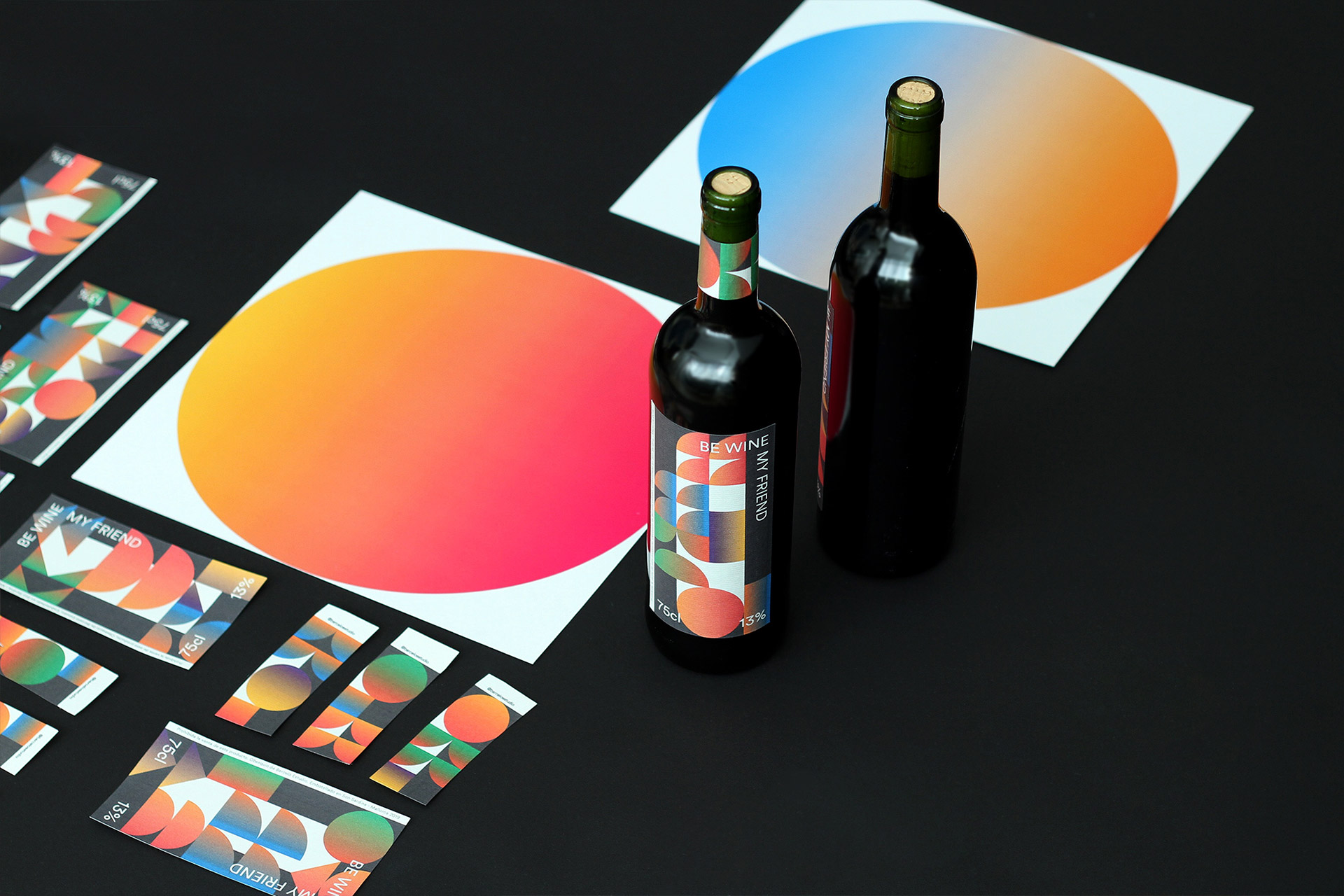 Be winBe Wine My Friend  by Barceló estudio - Creative Work - $i