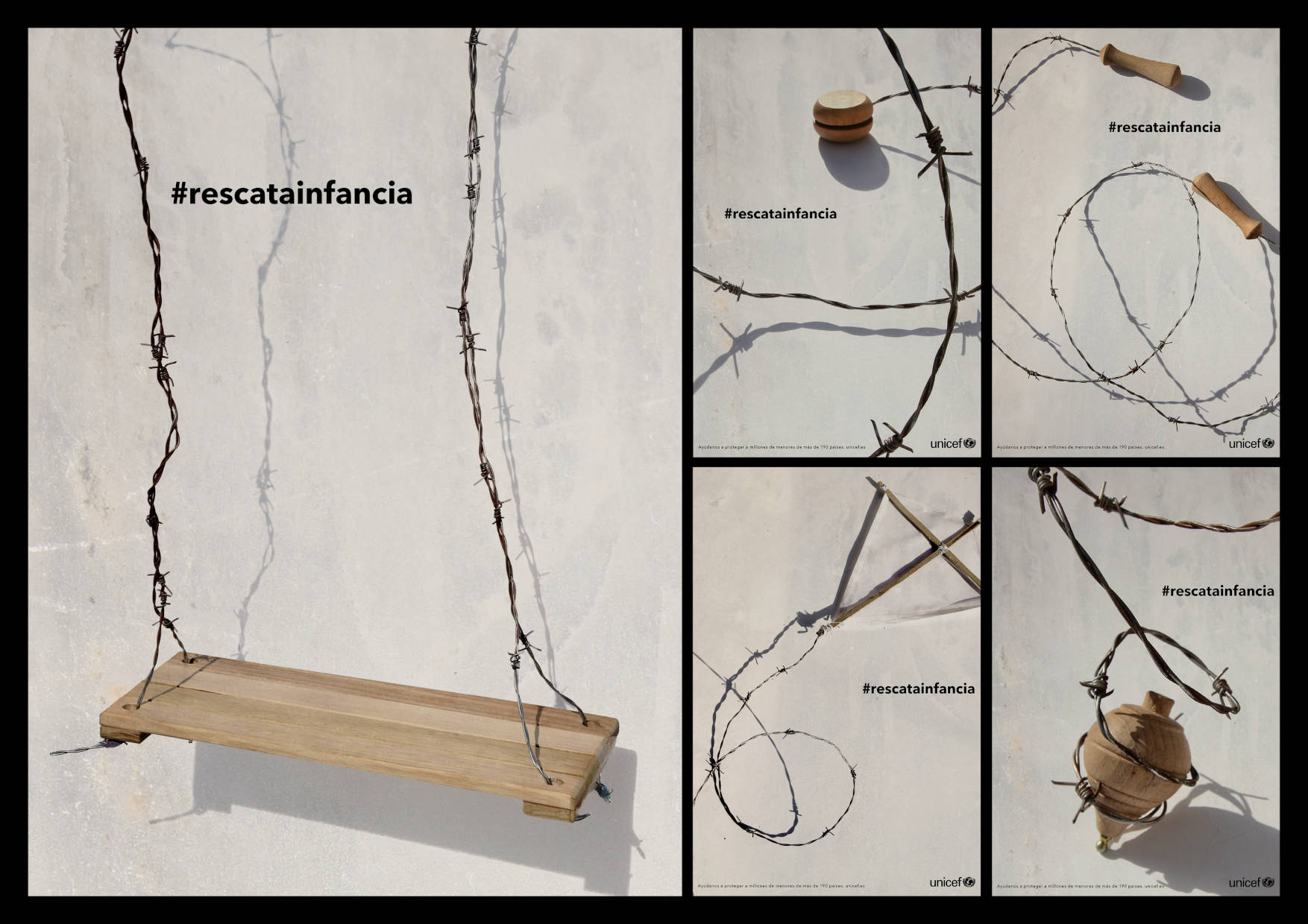 #rescatainfancia  by Lara Lussheimer - Creative Work