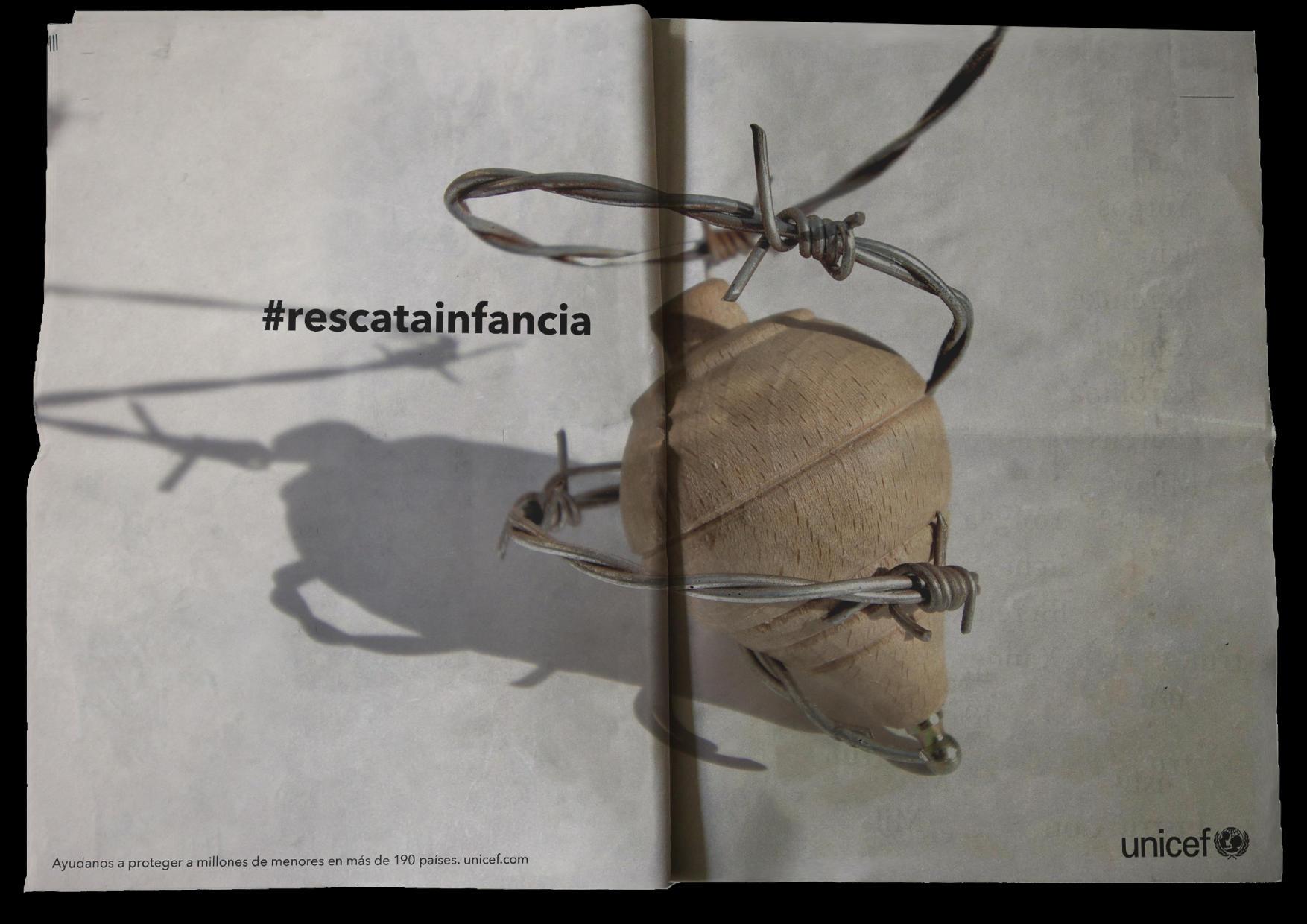 #rescatainfancia  by Lara Lussheimer - Creative Work - $i