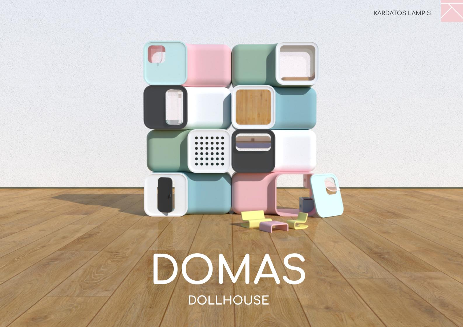 DOMAS DOLLHOUSE by KARDATOS LAMPIS - Creative Work