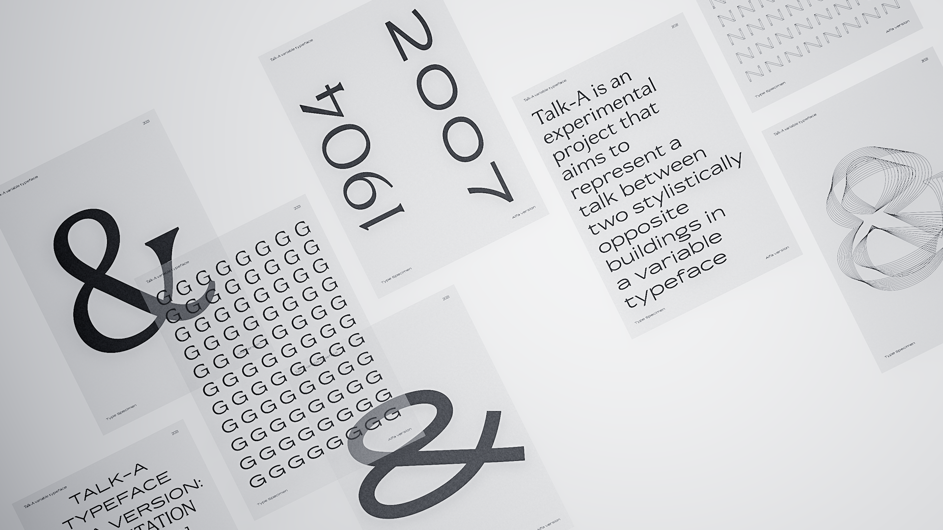 Talk-A variable typeface by Mikel Tristan - Creative Work - $i
