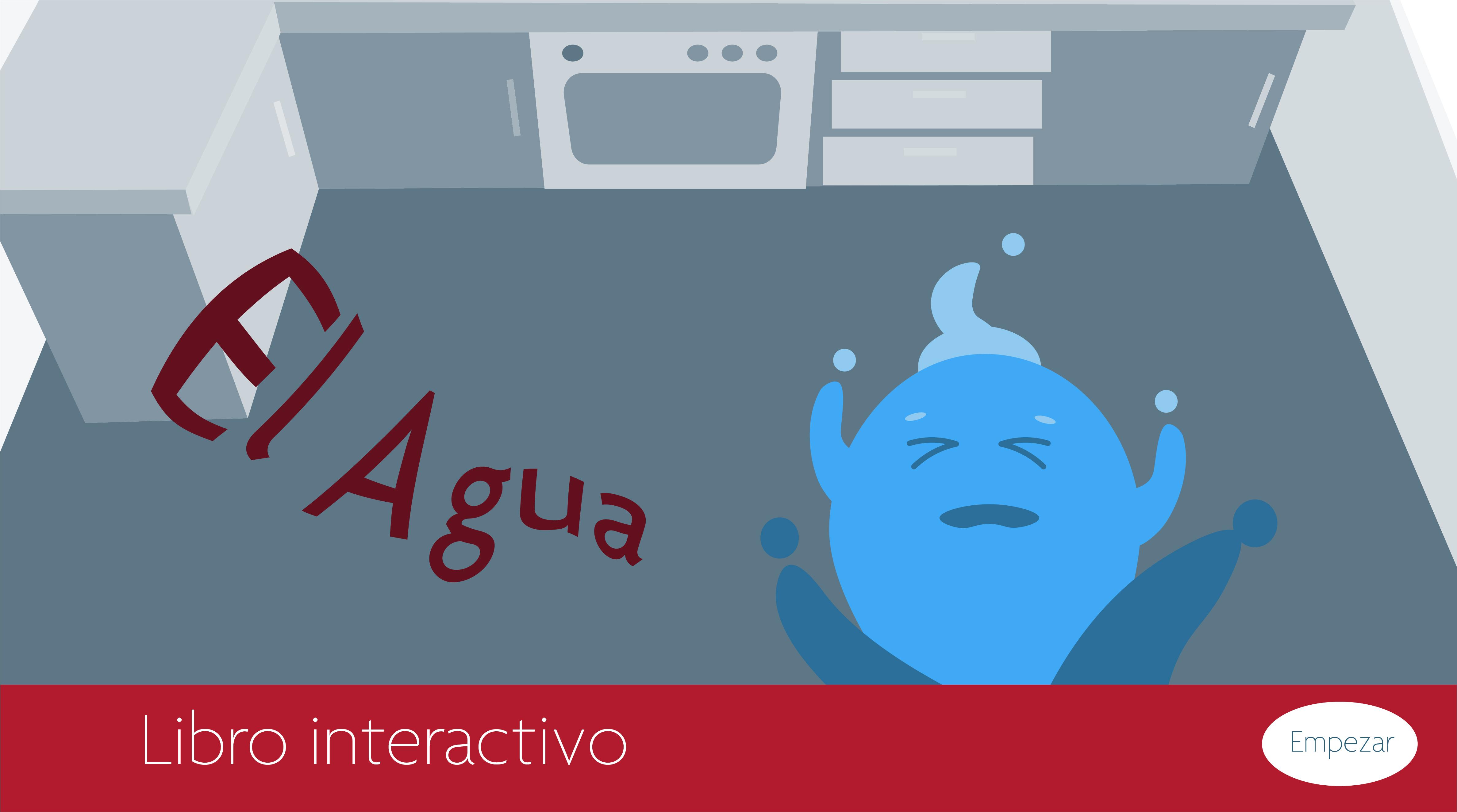 El agua. Conocemos cualidades físicas y quimicas del agua. Libro interactivo. by Olga Lebedkova - Creative Work