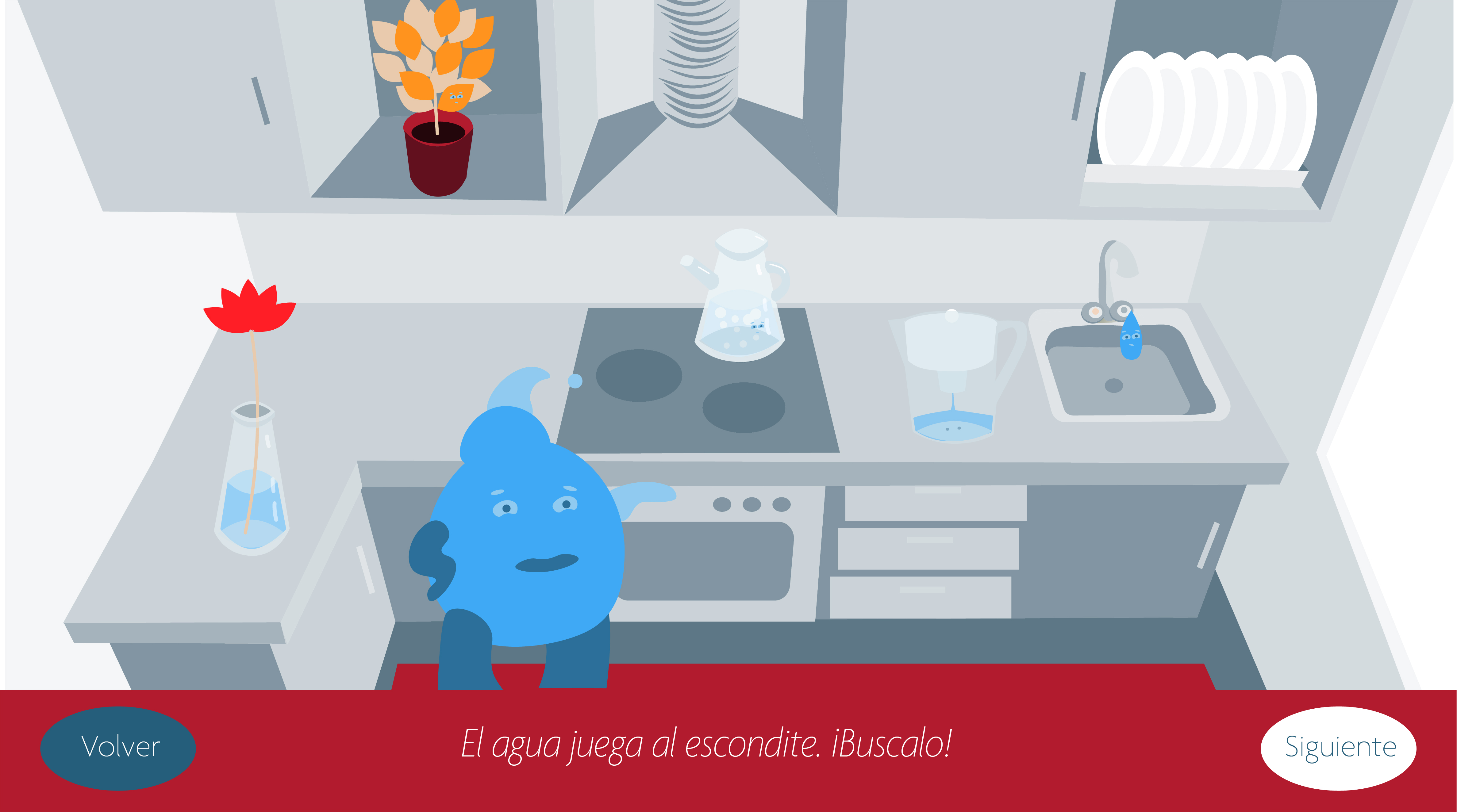 El agua. Conocemos cualidades físicas y quimicas del agua. Libro interactivo. by Olga Lebedkova - Creative Work - $i