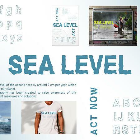 Sea Level Typography