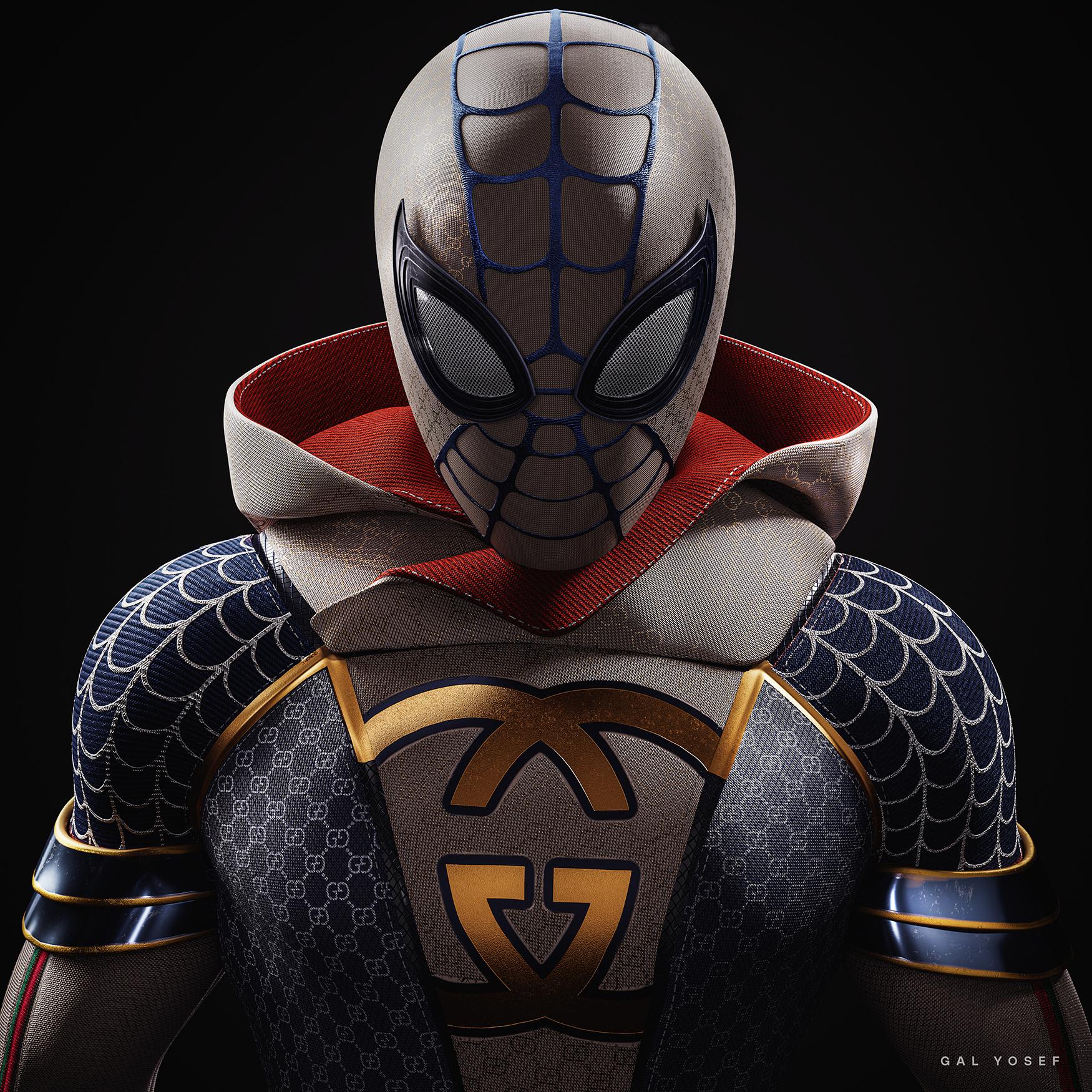 Gucci Spider by Gal Yosef - Creative Work